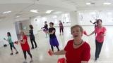 Русский танец ХАЛИ ГАЛИ В СЫКТЫВКАРЕ Утренние ласточки1