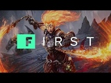 Darksiders 3 : Gameplay Enter the Flame Hollow - IGN First