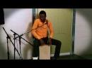 Euloge Akifewa - Cajon improvisation