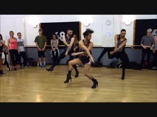 """Хорошо танцуют (YANIS MARSHALL CHOREOGRAPHY. MUSIC BY BEYONCE. FEAT ARNAUD MEHDI. STUDIO68 LONDON #BGT REHEARSAL""""},""""url"""" """")."""
