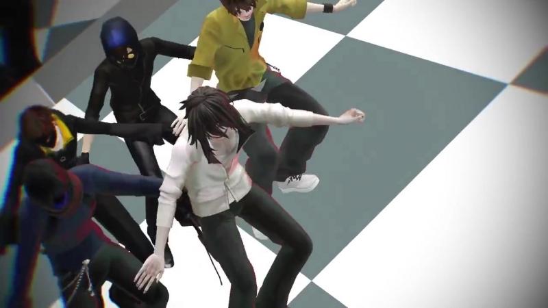 [MMDCreepypasta] Fun! - Jeff, EJ, Toby, Hoody Masky