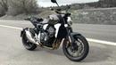 Honda CB1000R 2018   Test ride   Standard Exhaust sound
