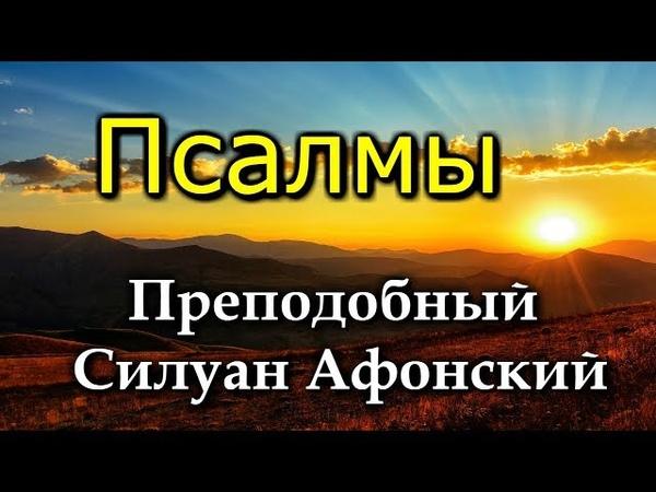 СКУЧАЕТ ДУША МОЯ ПО ТЕБЕ ГОСПОДИ и слезно ищу Его Псалмы преподобного Силуана Афонского