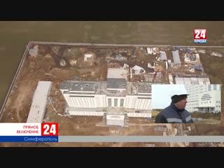 На каком этапе строительство медцентра под Симферополем