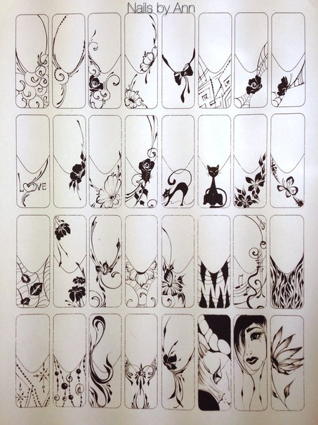 идеи для нейл-арта