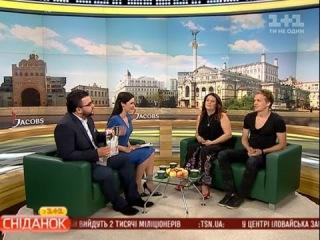 Ігор Грохоцький та Іванна Слабошпицька - про зйомку для обкладинки журналу