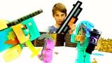 Видео Майнкрафт - Стив и мобы в кинотеатре в игре Minecraft!