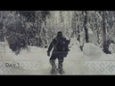 🌲 2 Дня в Зимнем Лесу❄ | Бушкрафт Поход | Нодья | Плащ-Палатка • 2 Days Bushcraft Trip | Log Fire🔥
