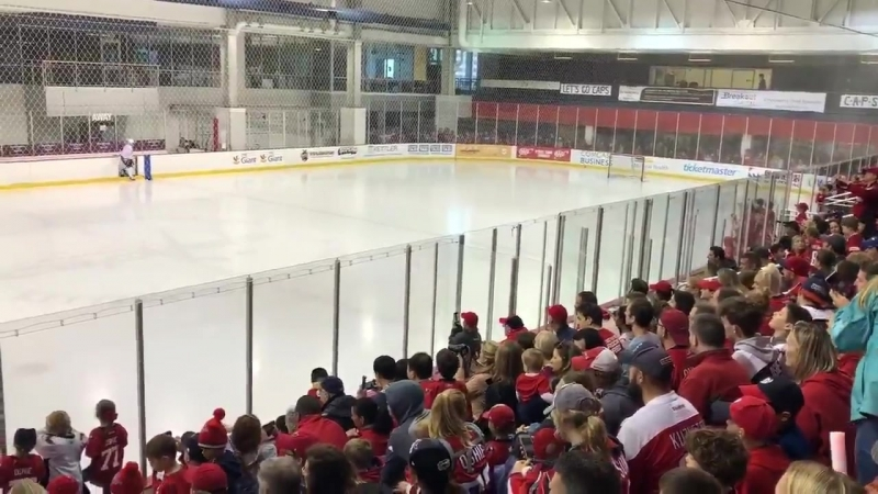 Another packed house at Kettler Iceplex