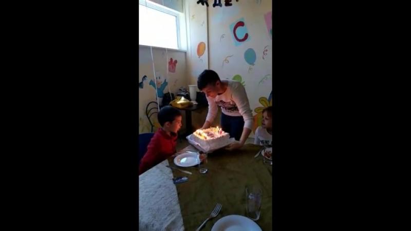 вынос торта день рождения Мышонка