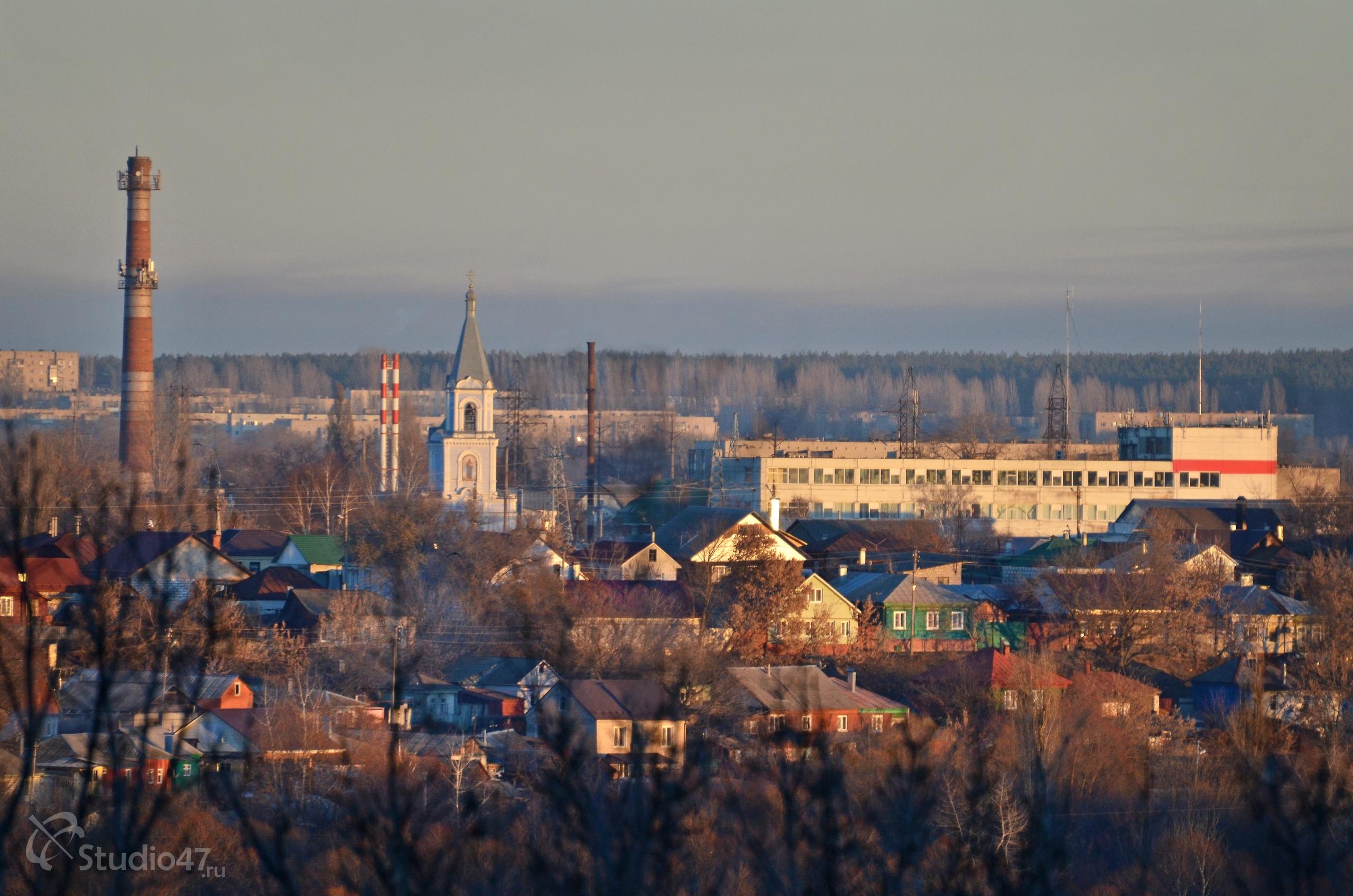 Панорама города Борисоглебска Воронежской области