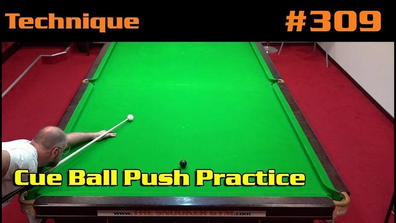 Cue Ball Push Practice