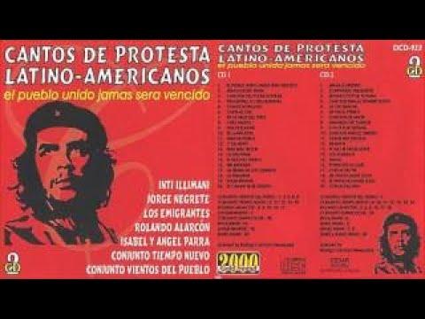 Cantos de protesta latinoamericanos
