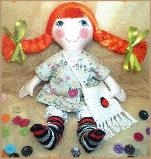 Кукла текстильная своими руками мастер класс