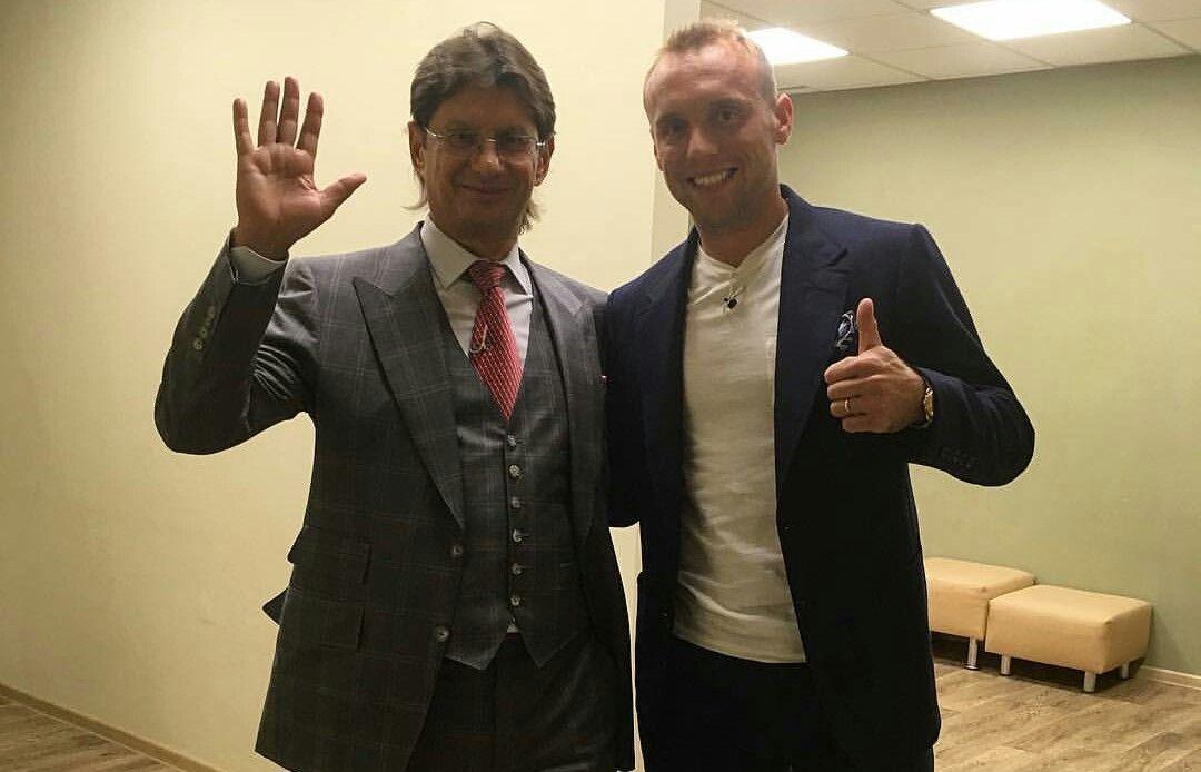 Леонид Федун и Денис Глушаков