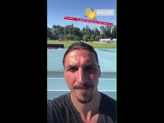 Ibrahimovic Be ready for this season because something special will happen. The boss has s