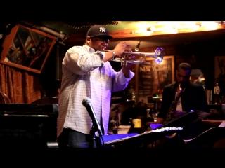 Freddie Hendrix solos in Smalls Jazz Club