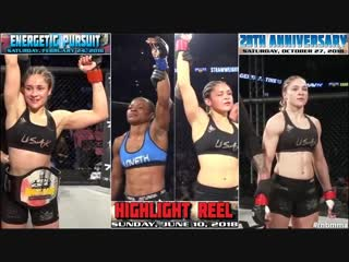👊 KOTC 2018: Cynthia «Sin» Arceo — Drama of Straw Queen of the Cage [3 Title Bouts]