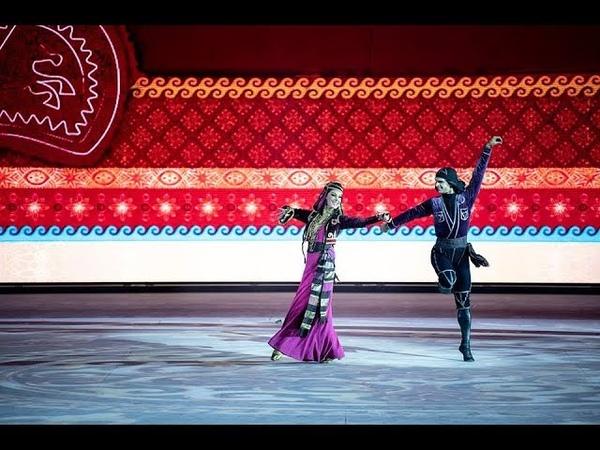 ансамбль Сухишвили - танец Лазури (23.09.2018)