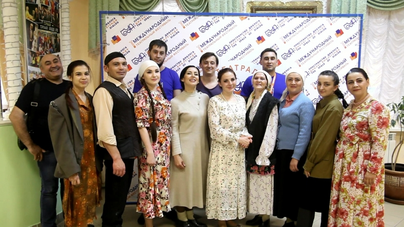 Приветствие Оренбургского татарского драмтеатра им М Файзи