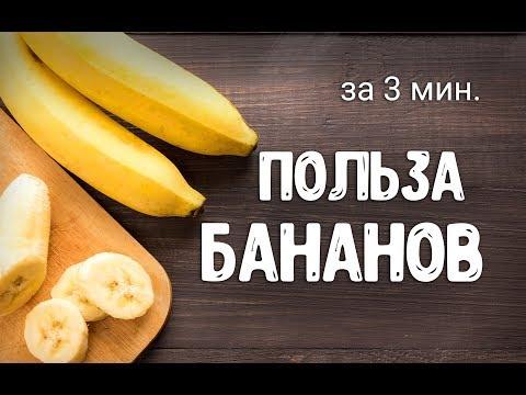 Польза бананов для организма | Сыроедение | Здоровье | Народные рецепты