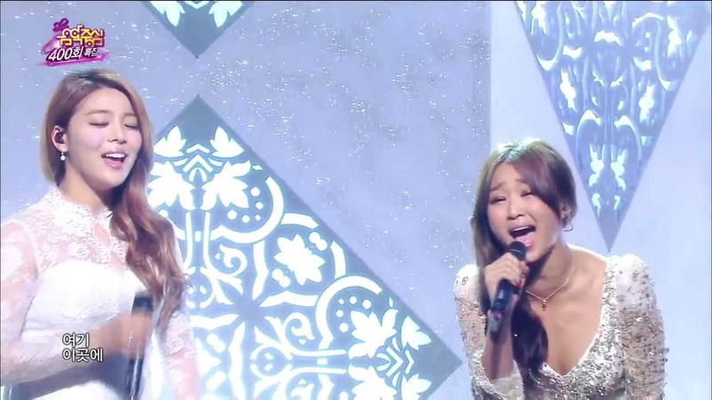 [HOT] Ailee Hyorin(SISTAR) - Let it go, 에일리 효린 - 렛잇고, Celebration 400th Show Music core 20140308