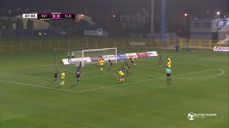 Inter-Zapresic - Slaven Belupo 0-0, Sazetak (1. HNL 2018/19, 13. kolo), 05.11.2018. Full HD