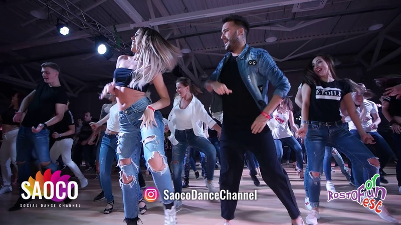 Bachata Bootcamp by Dario Sara at the Rostov For Fun Fest 2018
