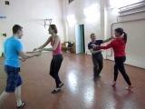 !!Zouk протанцовка после занятия in dance studio DancA 14 04 14 -Оксана и Слава, Андрей - Илона