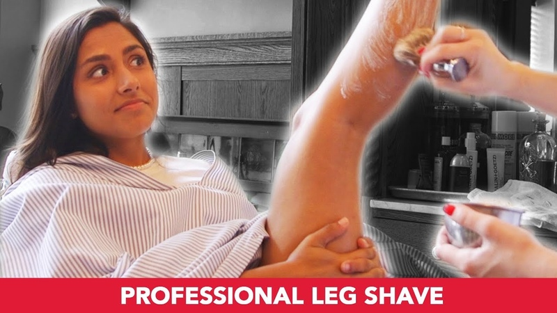 I Got My Legs Professionally Shaved By A Barber