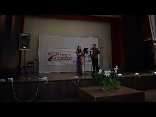 Светлана Дехтярева-Перепелкина и Константин Просеков на концерте клуба АП
