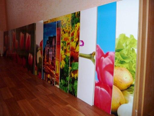 Стеновая панель для кухни пластик с рисунком