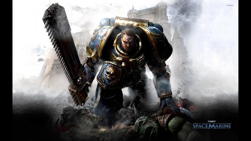 Команда А/ Warhammer 40,000 Space Marine 1