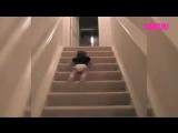 Быстрый способ спуститься по лестнице