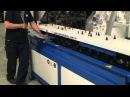 Комплекс для производства отводов прямоугольных воздуховодов с интегрированны