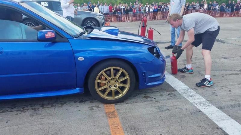 Subaru Impreza WRX STI vs Mercedes Benz GLC 43 AMG