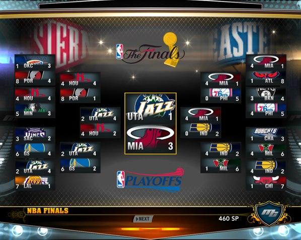 Плей-офф НБА2К13