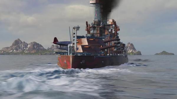 World of Warships - Полный Вперед! Предложения и Задачи Декабря 1