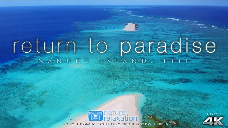 FIJI ISLANDS in 4K Return to Paradise ( Music) 2HR Nature Relaxation™ Ambient Film