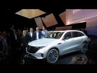 Презентация электрического кроссовера Mercedes-Benz EQC