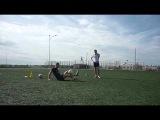 футбольный фристайл в кемерово Лесная Поляна