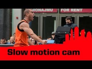 Slow Motion Cam - 2014 FIBA 3x3 World Tour - Prague Masters