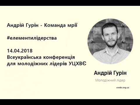 Андрій Гурін Команда мрії елементилідерства