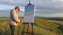 Живопись на пленэре Как рисовать с натуры художник Ревякин Дмитрий