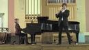 L. Spohr. Clarinet concerto N1. 1st mvt. Nikita Strelkov - clarinet, Elena Serova - piano