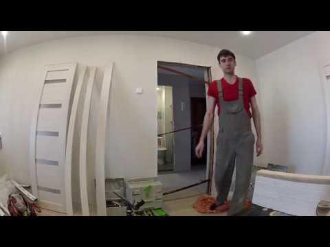 сужение дверного проема до стандартных габаритов