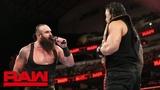 WBSOFG Roman Reigns and Braun Strowman call out Brock Lesnar Raw, Sept. 17, 2018