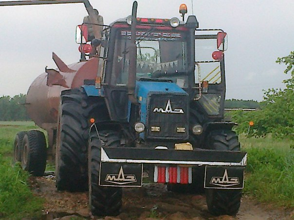 Тюнинг трактора мтз 82 своими руками фото