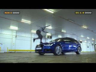 Audi RS 6 Avant - Красочная битва