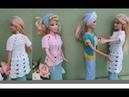 Saco a crochet para Barbie (salida de playa o blusa)